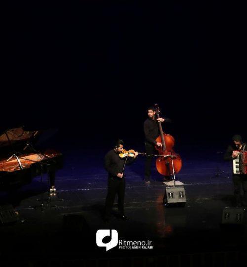 کوئینتت تهران کنسرت تالار وحدت